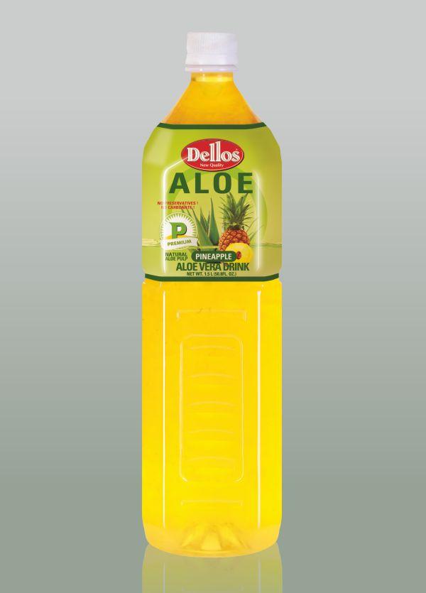 алое с ананас за пиене, делос алое вера
